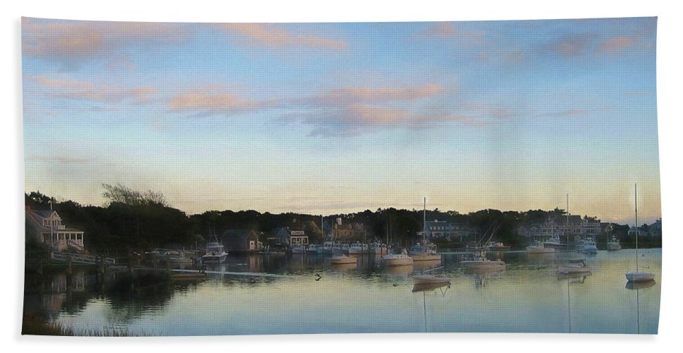 Water Bath Sheet featuring the photograph Wrentham Sunset by JAMART Photography