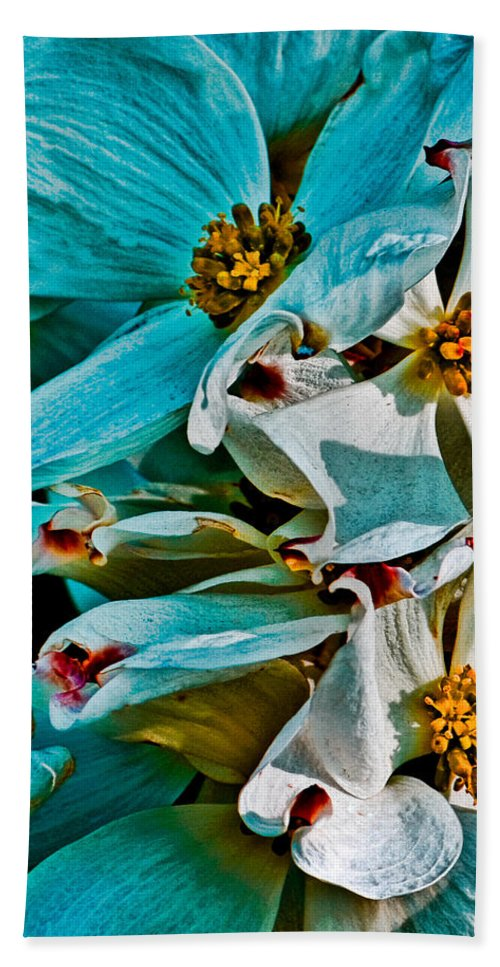 Floral Hand Towel featuring the photograph Wrinkly Petals by Chris Lord