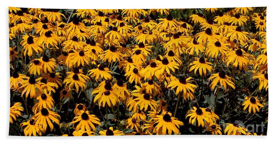 Digital Photo Bath Sheet featuring the photograph Yellow Is The Color Of ..... by David Lane