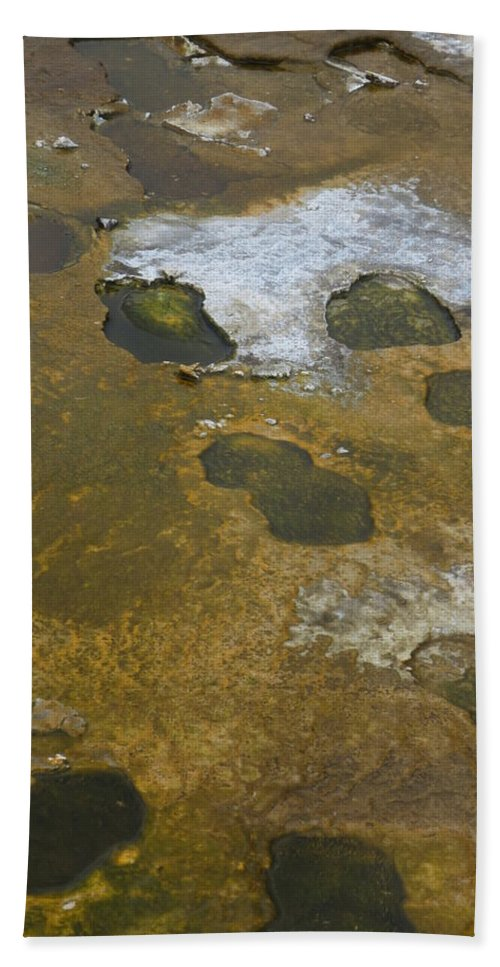Yellowstone Bath Sheet featuring the photograph Yellowstone #1 by Wade Milne