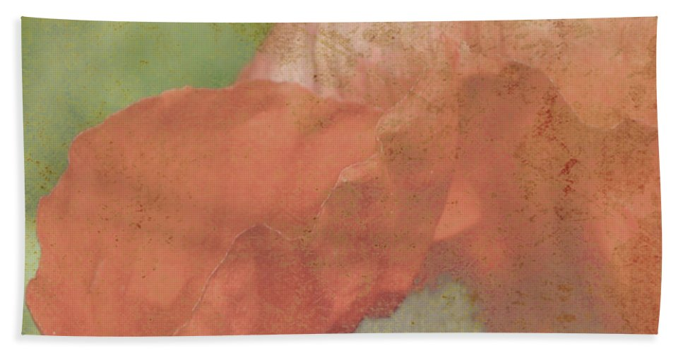 Poppy. Aged Hand Towel featuring the photograph Yesterday by Traci Cottingham