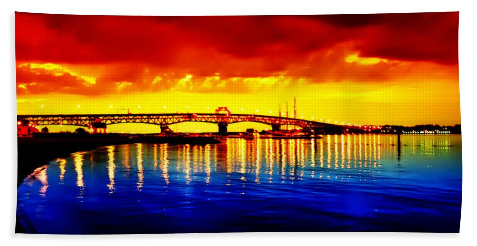 Jamestown Hand Towel featuring the photograph Yorktown Virgina by Bill Cannon