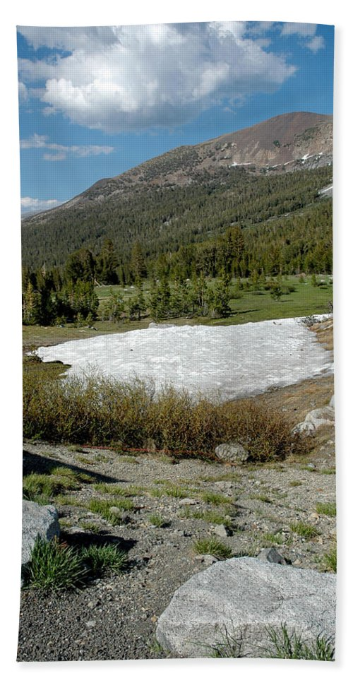 Usa Bath Sheet featuring the photograph Yosemite At The Gate Tioga Pass by LeeAnn McLaneGoetz McLaneGoetzStudioLLCcom
