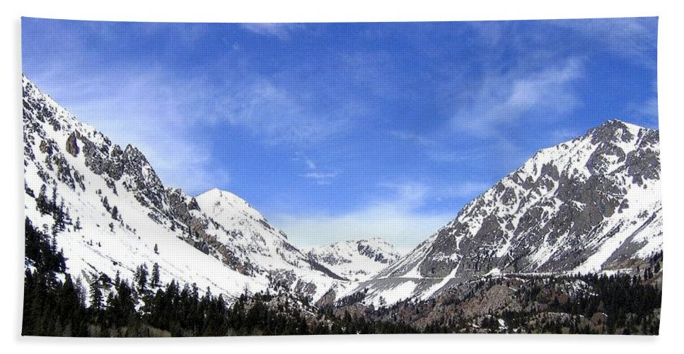 Yosemite Park Hand Towel featuring the photograph Yosemite Park by Will Borden