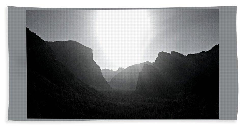 Yosemite Bath Sheet featuring the photograph Yosemite Sunrise by Denise Ashley