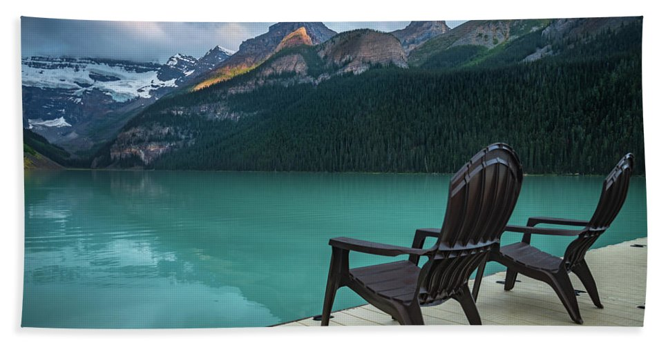 Banff Bath Towel featuring the photograph Your Next Vacation Spot by William Freebilly photography