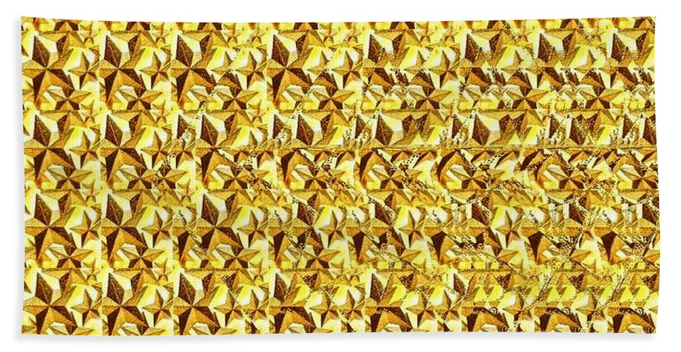 Star Bath Sheet featuring the photograph You Are My Star Stereogram by JMar P