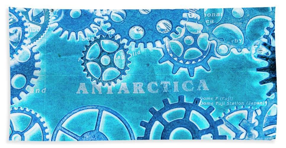 Antarctica Bath Towel featuring the photograph Ancient Antarctic Technology by Jorgo Photography - Wall Art Gallery