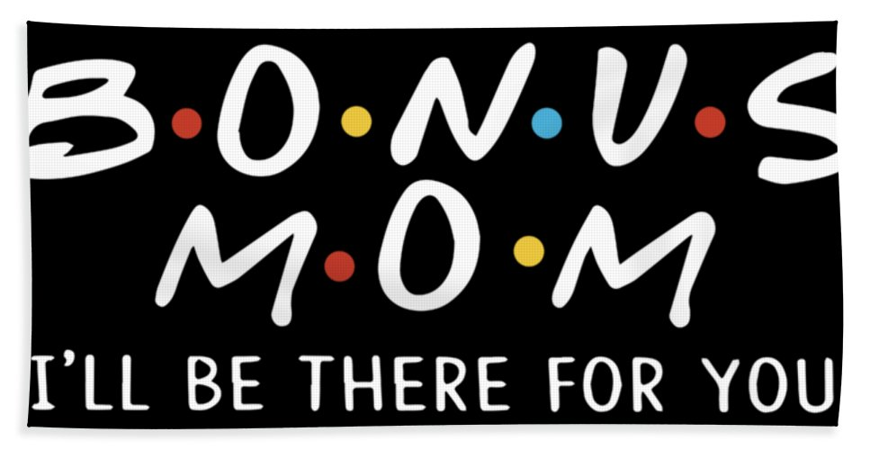 Mama Hand Towel featuring the digital art bonus mom I will be there for you mom by Hayden Whitworth