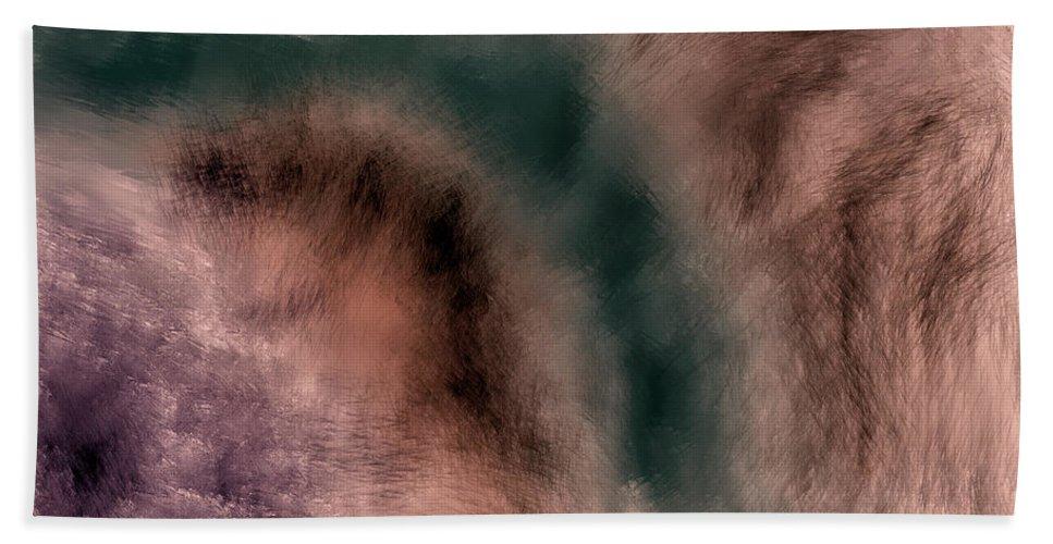 Crazy Bath Towel featuring the digital art Crazy #j2 by Leif Sohlman