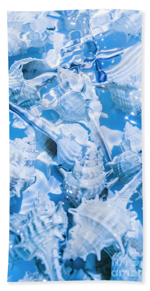 Blue Hand Towel featuring the photograph Deep Blue by Jorgo Photography - Wall Art Gallery