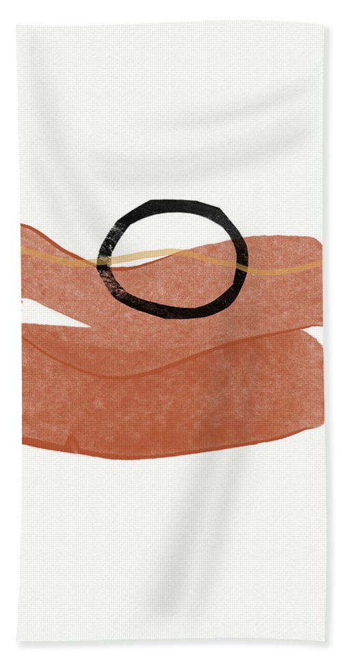 Modern Bath Towel featuring the painting Desert Zen 3- Art By Linda Woods by Linda Woods