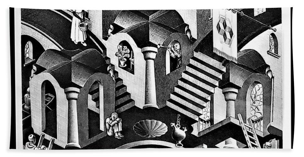 Maurits Cornelis Escher Hand Towel featuring the photograph Escher 135 by Rob Hans