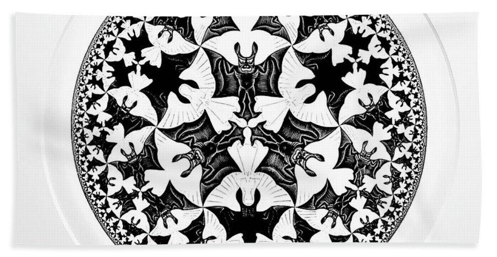 Maurits Cornelis Escher Hand Towel featuring the photograph Escher 66 by Rob Hans