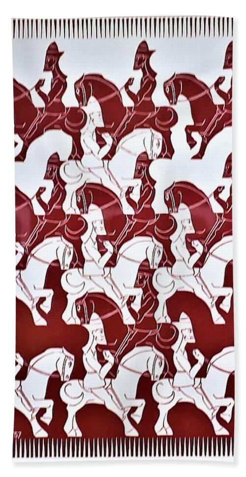 Maurits Cornelis Escher Hand Towel featuring the photograph Escher 84 by Rob Hans