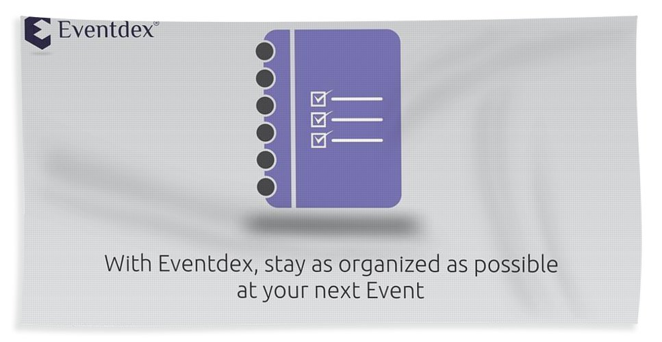 Event Bath Sheet featuring the photograph Eventdex- It's All About Event Management by Eventdex LLC