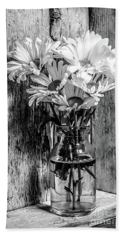 Flower Bath Towel featuring the photograph Flowers Still Life 0945 by Edward Fielding