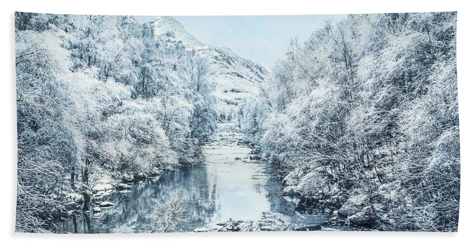 Kremsdorf Bath Towel featuring the photograph Frozen Memories by Evelina Kremsdorf