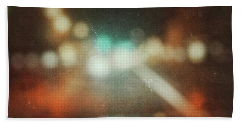 Abstract Bath Towel featuring the photograph ghosts V by Steve Stanger