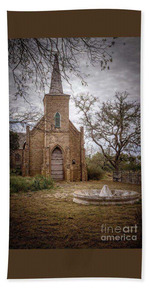 Gothic Revival Church Bath Towel featuring the photograph Gothic Revival Church by Imagery by Charly