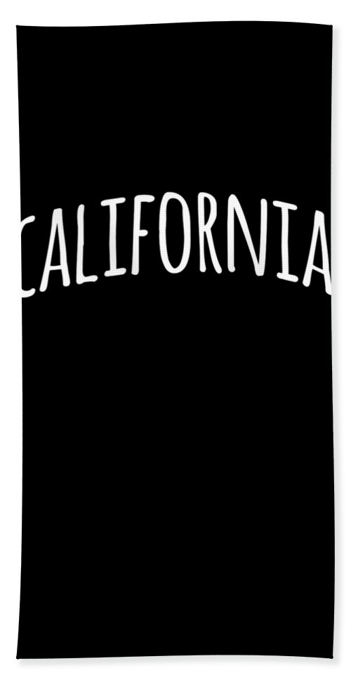 Cool Bath Towel featuring the digital art Hand California by Flippin Sweet Gear