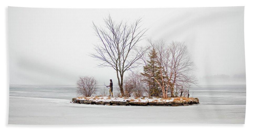 Lake Winnipesaukee Bath Towel featuring the photograph Lake Winnipesaukee Indian Island Meredith New Hampshire by Trevor Slauenwhite