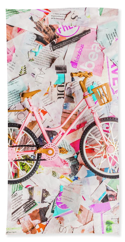 Papergirl Bath Towel featuring the photograph Mode Of Transport by Jorgo Photography - Wall Art Gallery