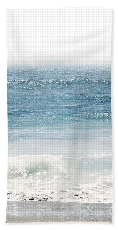 Ocean Bath Towel featuring the photograph Ocean Dreams- Art by Linda Woods by Linda Woods
