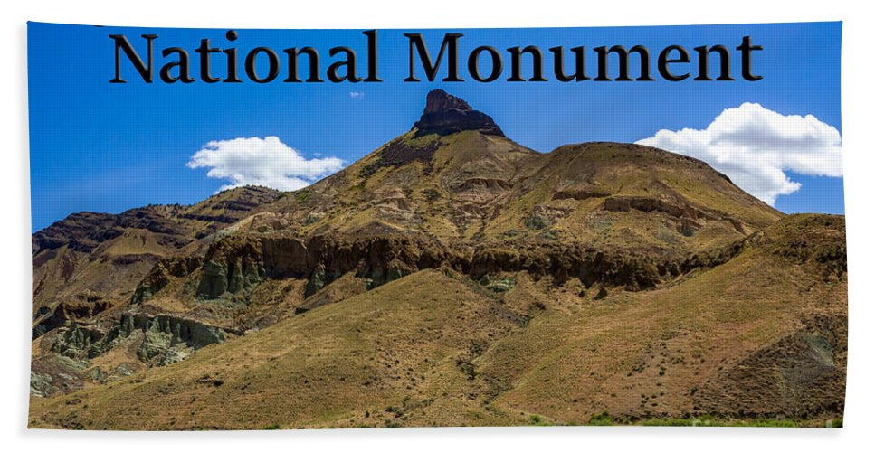 Oregon Bath Towel featuring the photograph Oregon - John Day Fossil Beds National Monument Sheep Rock 2 by G Matthew Laughton