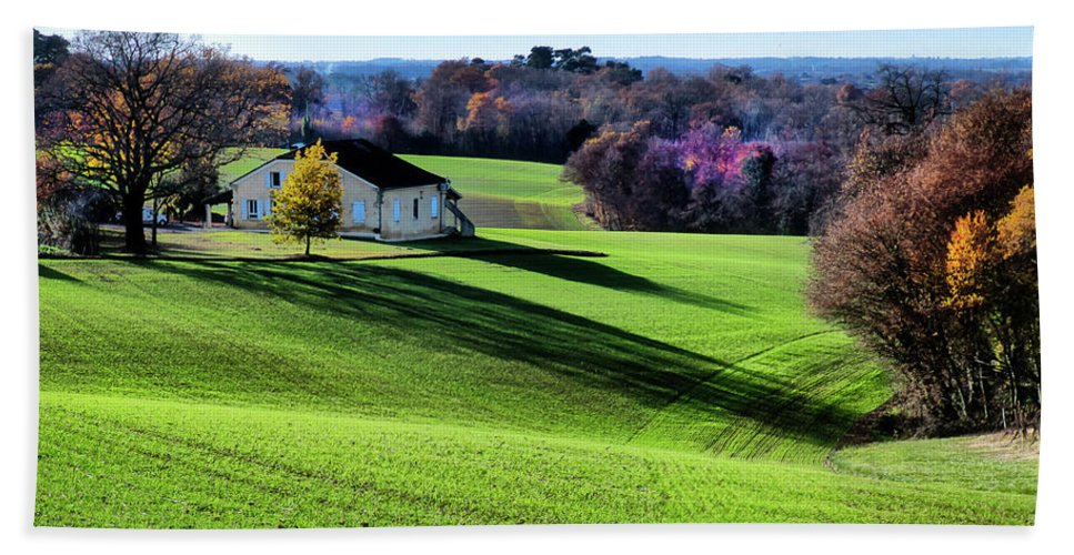 Photography Hand Towel featuring the photograph Pastoral Countryside Xv by Colby Chester