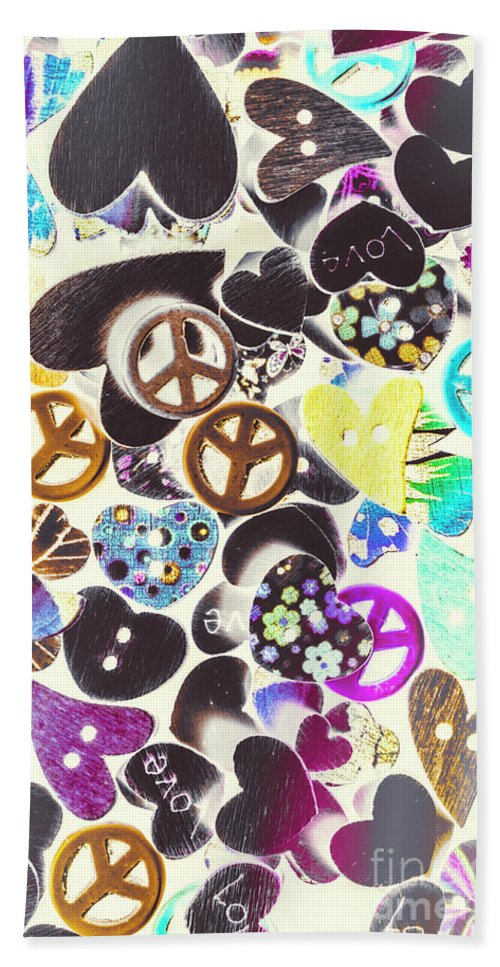 Funky Hand Towel featuring the photograph Peace Revival by Jorgo Photography - Wall Art Gallery