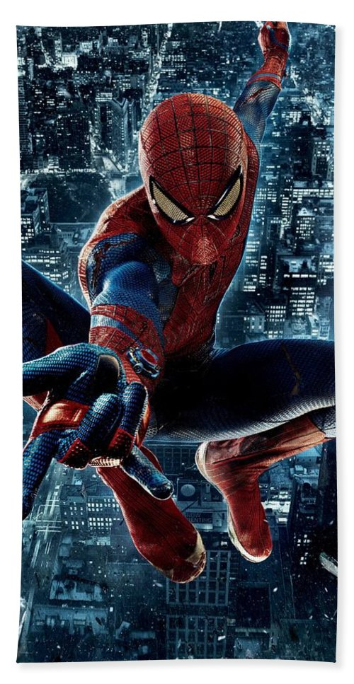 Poster The Amazing Spider Man 2 Homem Aranha Hand Towel For Sale