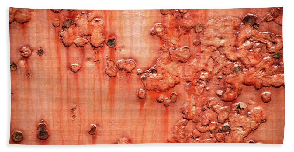 Rust Bath Towel featuring the photograph Rust by Trevor Slauenwhite