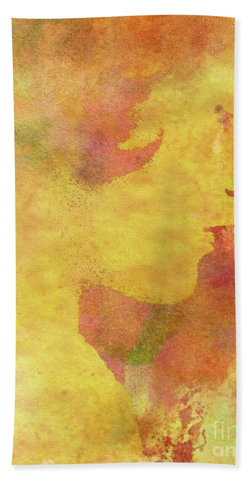 Shades Of You Bath Towel featuring the digital art Shades of You by Kenneth Rougeau