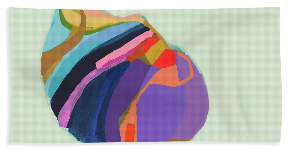 Abstract Hand Towel featuring the photograph The Waiting Game by Claire Desjardins
