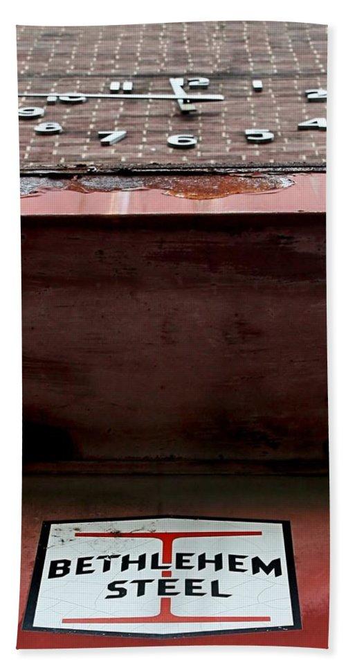 Bethlehem Bath Sheet featuring the photograph Timesover by DJ Florek