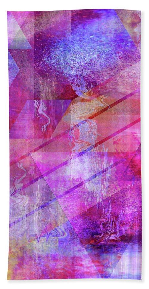 Dragon's Kiss Hand Towel featuring the digital art Dragon's Kiss by John Robert Beck