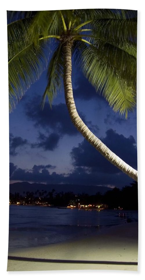 3scape Bath Sheet featuring the photograph Koh Samui Beach by Adam Romanowicz