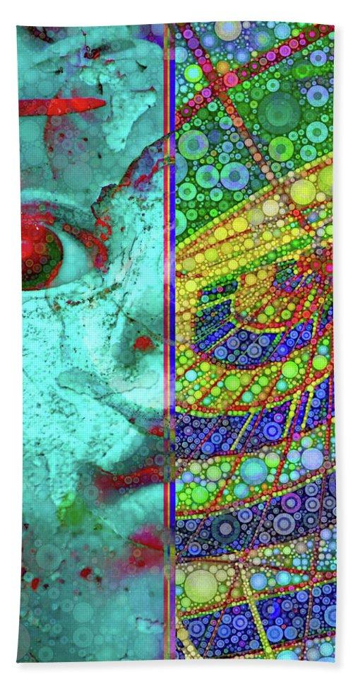 Sugar Baby Bath Sheet featuring the digital art Sugar Baby by Skip Hunt