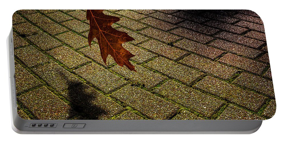 Equinox Portable Battery Charger featuring the photograph Autumnal Equinox by Bob Orsillo
