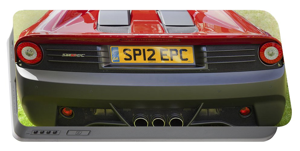Ferrari Portable Battery Charger featuring the photograph Ferrari Sp12 Ec by Maj Seda