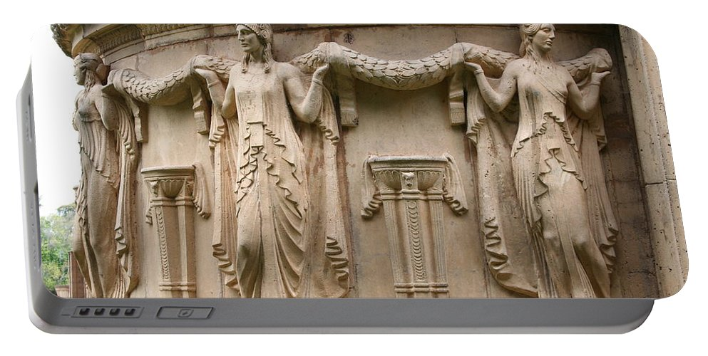 San Francisco Portable Battery Charger featuring the photograph Palace Of Fine Art Relief by Christiane Schulze Art And Photography