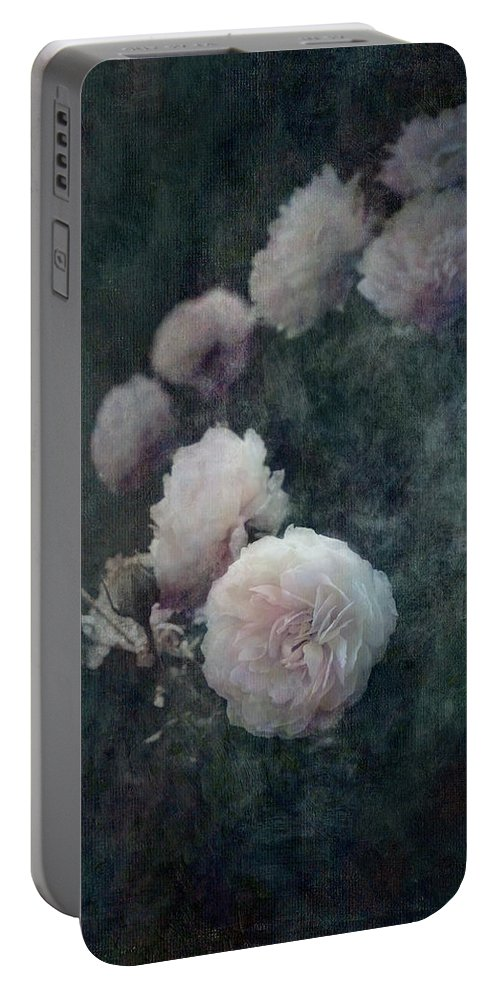 Loriental Portable Battery Charger featuring the photograph Perennial Gardens - Fall #04 by Loriental Photography