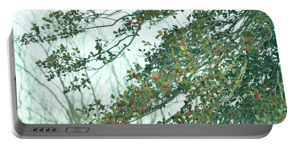 Rubies Of Nature Portable Battery Charger featuring the photograph Spring Drops by Sonali Gangane