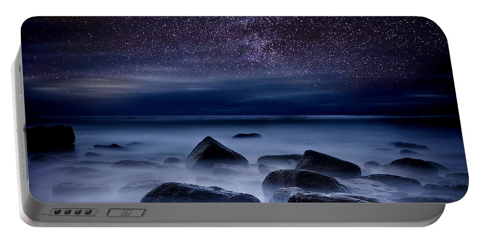 Night Portable Battery Charger featuring the photograph Where dreams begin by Jorge Maia