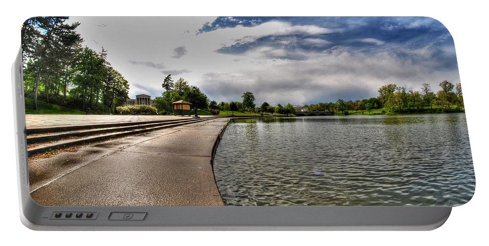 Hoyt Lake Portable Battery Charger featuring the photograph 001 Hoyt Lake by Michael Frank Jr