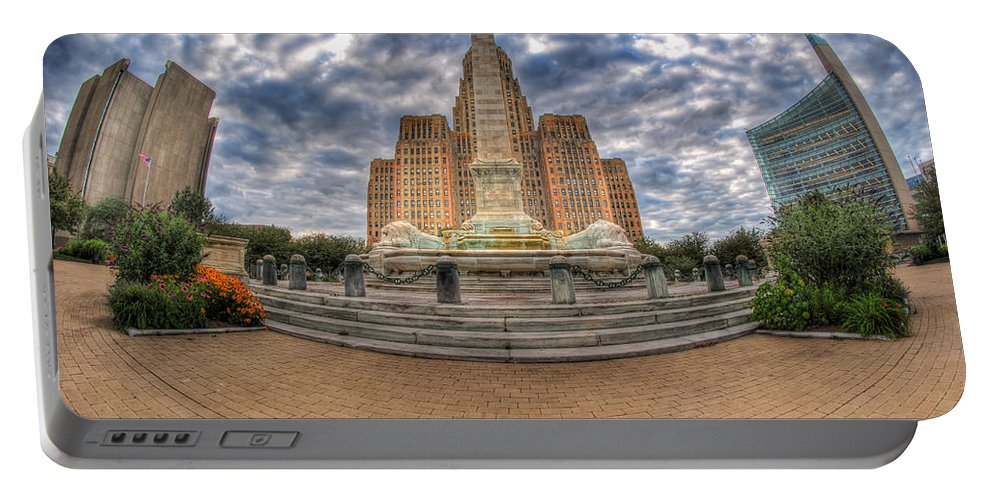 Queen City Portable Battery Charger featuring the photograph 003 Heart Of The Queen by Michael Frank Jr