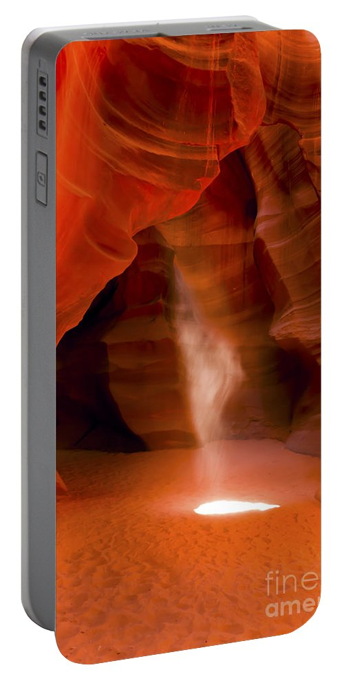 Upper Portable Battery Charger featuring the photograph 0677 Upper Antelope Canyon by Steve Sturgill