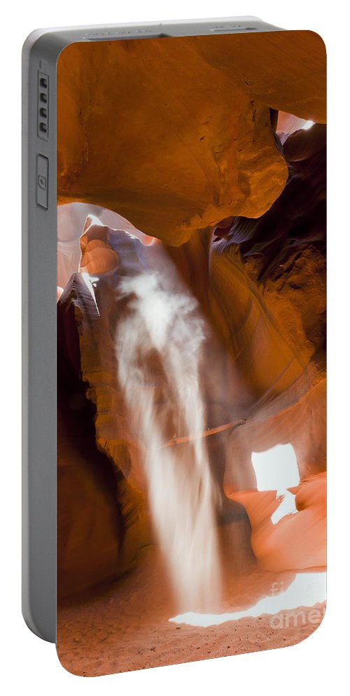 Antelope Portable Battery Charger featuring the photograph 0692 Antelope Canyon by Steve Sturgill