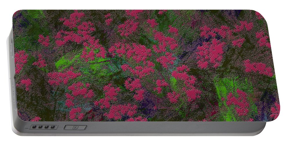 Abstract Portable Battery Charger featuring the digital art 0901 Abstract Thought by Chowdary V Arikatla